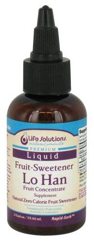 Life Solutions - Premium Liquid Fruit Sweetener Lo Han - 2 Oz.