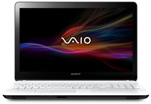 Sony SVF1521R2E Vaio Notebook 15.5 Pollici, Touch Screen, Intel Core i5, RAM 4 GB, HDD 500 GB, Windows 8, Bianco
