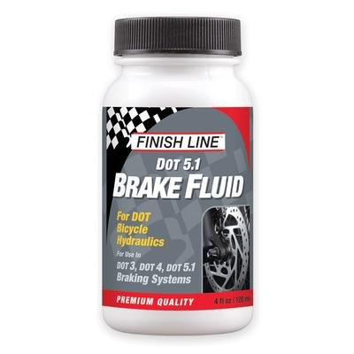 Finish Line Brake Fluid - DOT 5.1 4oz Compatible With DOT 3 & 4 - BD0040101
