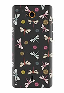 Noise Printed Back Cover Case for InFocus Bingo 21