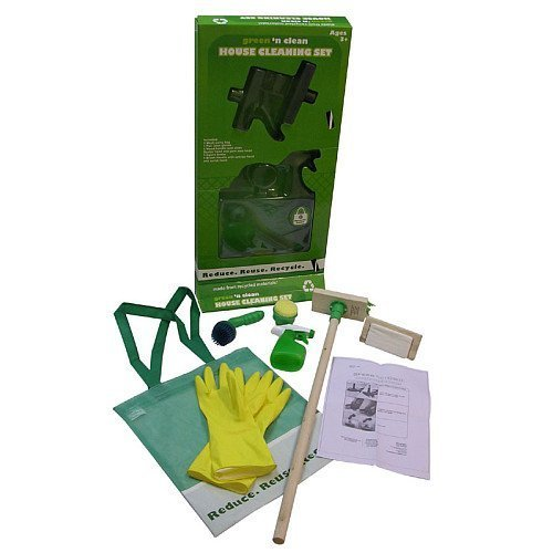 Planet Toys Green 'n Clean House Cleaning Set