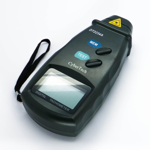 CyberTech Digital Photo Tachometer Non Contact Tach