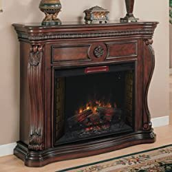 ClassicFlame Lexington Electric Fireplace Mantel in Empire Cherry - 33WM881-C232