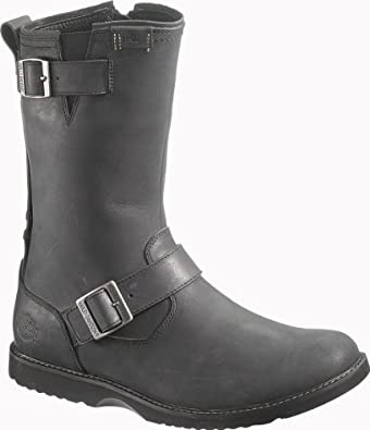 Harley Davidson Mens Bryson Black Leather Boots 11.5 by Harley-Davidson