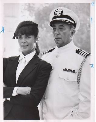 PHOTO Original A3976 Robert Mitchum Ali MacGraw