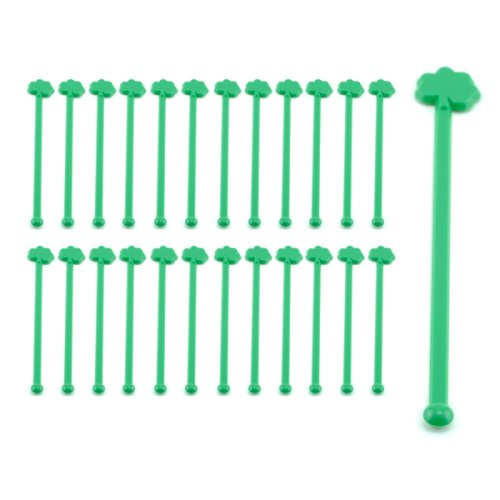 Buy Green Shamrock Cocktail Stirrers – Set of 24