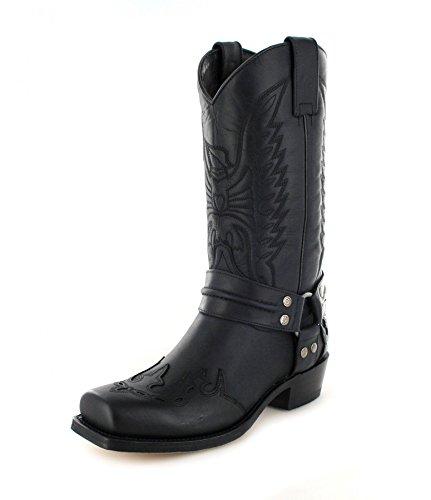 Sendra Boots 4980, Stivali uomo Nero nero, Nero (Nero), 44 EU
