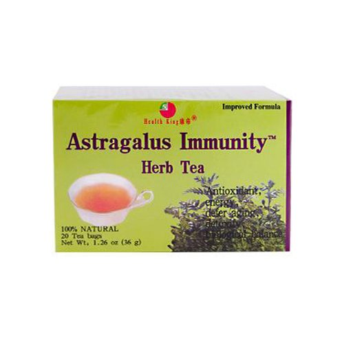 Wholesale Health King Astragalus Immunity Herb Tea - 20 Tea Bags, [Food, Tea]