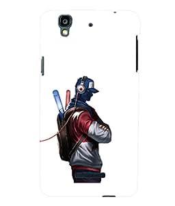 printtech Pop Cool Dude Music Back Case Cover for YU Yureka Plus :: Micromax Yureka AO5510
