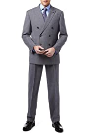 Ultimate Performance Double Breasted Suit with Wool[T15-2369D-S/T15-2370D-S]