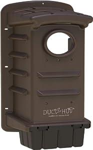 DuckHut - Premiere Wood Duck House - Tree Mount - Olive Drab