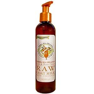 Tierra Mia Organics Tierra Mia Organics Raw Goat Milk Skin Therapy Face and Body Cream, 7.4 Ounce