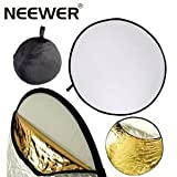 NEEWER 32-Inch 80CM 5 in 1 Round Portable Collapsible Multi Disc Light Photographic Lighting Reflector
