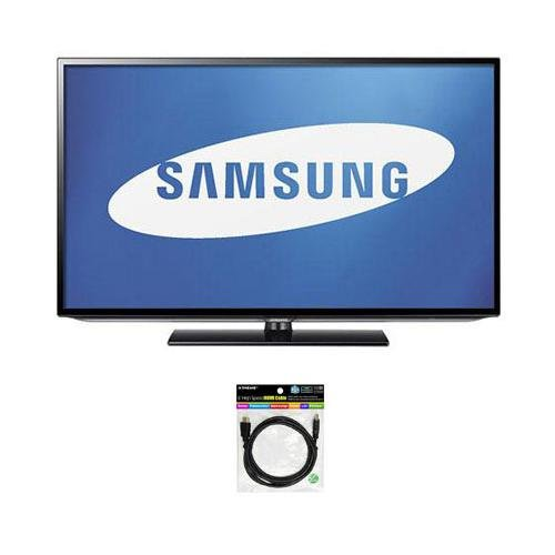 """Samsung 46"""" Class 1080P Led Hdtv, 60Hz Refresh Rate, - Bundle Hdmi 1.4 Audio/Video Cable For 3D Hdtv - 6 Feet"""