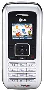 LG enV VX9900 Phone, Silver (Verizon Wireless)