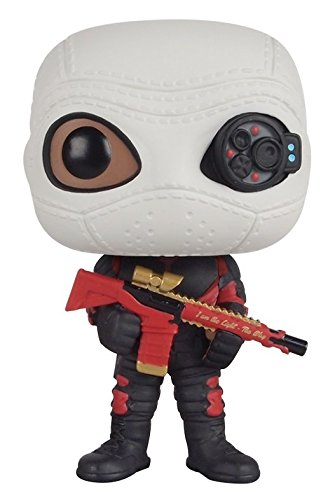 Funko - Figurine DC Heroes Suicide Squad - Deadshot Masked Pop 10cm - 0849803083601