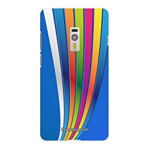 HomeSoGood Colorful Rainbow Way Blue 3D Mobile Case For OnePlus 2 (Back Cover)