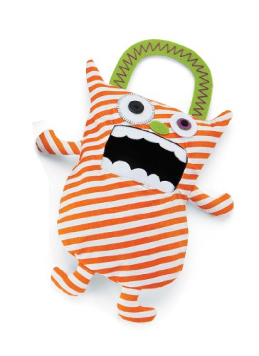 Mud Pie Candy Monster Bags, Orange - 1