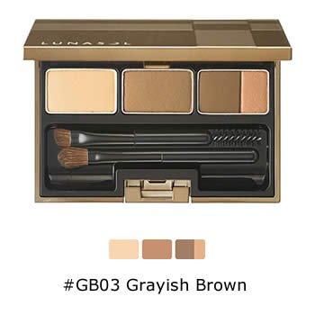 ルナソル ブラウ スタイリング コンパクト N #GB03 Grayish Brown 3.5g
