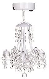 LockerLookz White Beaded Locker Chandelier - 1 Piece