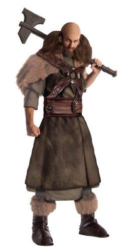 Herr der Ringe Dwalin Deluxe Kostüm für Herren, Größe:M/L