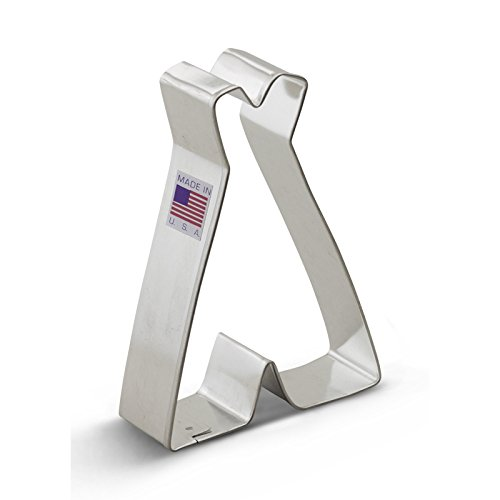 Ann Clark Teepee Cookie Cutter - 4 Inches - Tin Plated Steel (Arrow Cookie Cutter compare prices)
