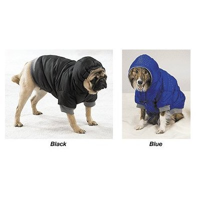 Large Black Dog Eskimo Winter Warm Jacket