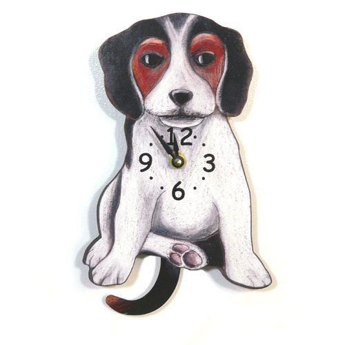 Pendulum Dog Clock - Beagle