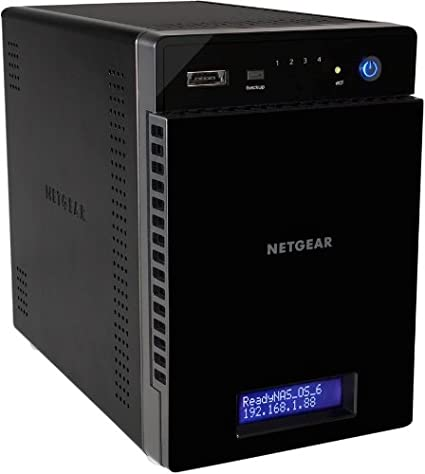 Netgear ReadyNAS 314 4-Bay Diskless Network Hard Disk