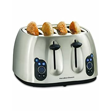 Hamilton Beach 24502 Digital 4 Slice Toaster