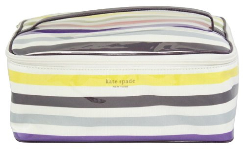 Kate Spade Sant Elmo Stripe Large Colin Cosmetic Bag,Multi,one size