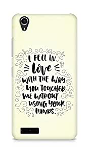 Amez I fell in Love with You Back Cover For Lenovo A3900