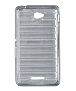 iCandy Break Design Soft TPU Back Cover for Sony Xperia E4 - Transparent