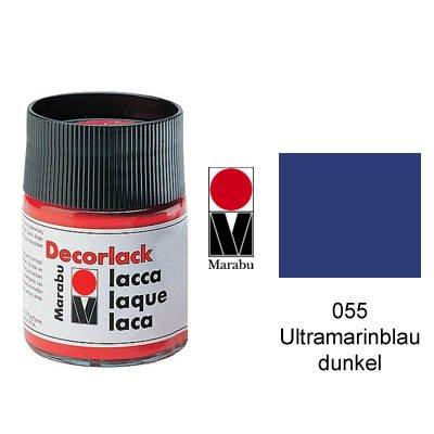 Marabu decorlack ultramarinbl. foncé - 15 ml jouet