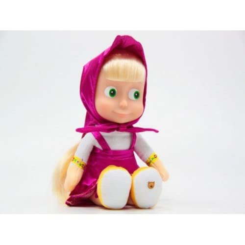 "Masha, russian Talking Toy! New!!!Popular cartoon character "" Mash and"