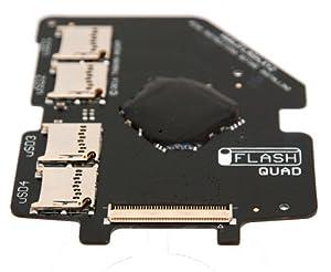 HYUN iFlash Quad MicroSD Adapter iPod 5G 6G 7G Video Classic Upto 4x Micro SD Cards