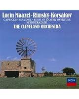 R.コルサコフ:スペイン奇想曲、交響組曲「シェエラザード」 他