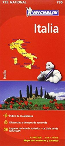 Mapa National Italia (Colección Mapas National Michelin)