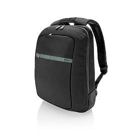 Belkin 15.6-Inch Core laptop Backpack (Pitch Black/Soft Gray)