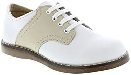 FootMates Unisex Cheer 3 (Infant/Toddler/Little Kid) White/Ecru Oxford 3 Infant M/W