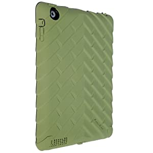 Gumdrop Cases Drop Tech Series Military Edition Case For iPad 3 & iPad 2 - Army Green