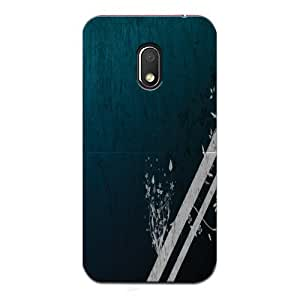 Tinywalk Moto G4 Play 3D Printed Mobile Back Cover | Patterns & Ethnic