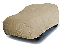 See CoverMates Elite - Contour Fit Car Cover for SUV / Crossover 300D Polyester with Free Storage Bag! (Khaki) Details