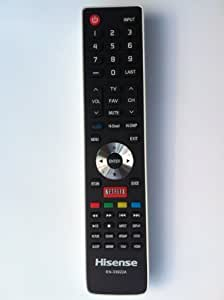 Brand NEW Hisense Smart Internet TV REMOTE Control EN-33922A for Hisense Smart Internet TV LHD32K366WUS LTDN40K366NWUS LTDN40K366WUS LTDN50K366GWUS LTDN50K610GW LTDN55K610GW With Netflix key