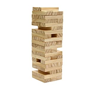 Tumbling Tower Game in Wooden Box (12 Inch when Packaged)