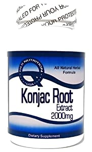 Konjac Root Extract 2000mg 90 Capsules ^GLS