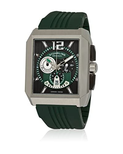 Stührling Original Reloj con movimiento cuarzo suizo Metropolis Chronograph Verde 51 mm
