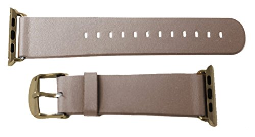 Apple Watch Microfiber Wrist Band (With Adapters) (Mocha / Light Brown - 42mm)