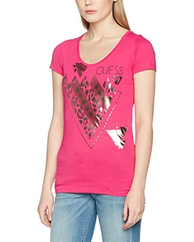 Guess T-Shirt Manica Corta Rn Ss Triangle Mix