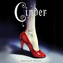 Cinder: Book One of the Lunar Chronicles (       UNABRIDGED) by Marissa Meyer Narrated by Rebecca Soler